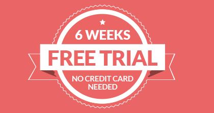 6 week free offer