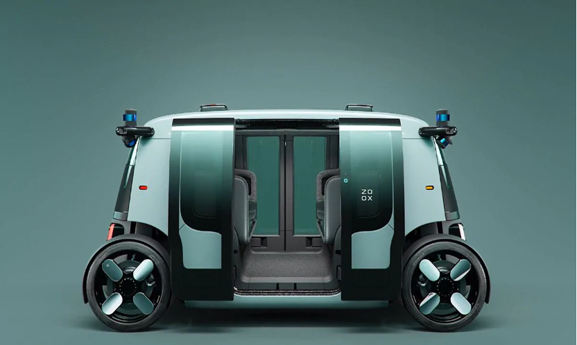 ZOOX driverless taxi
